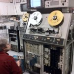Don working on Quad VTR